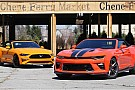 Automotive Chevy Camaro SS vs. Ford Mustang GT: top-down tussle