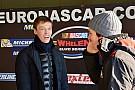 NASCAR Euro Kvyat participa en un test de la Euro Series NASCAR