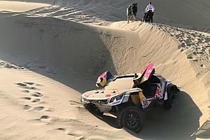 Dakar ステージレポート ダカール5日目:ローブがリタイア。ペテランセルが圧倒的リードで首位