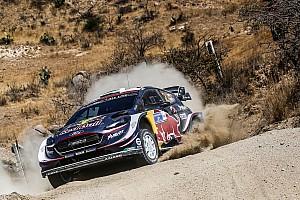 WRC Noticias El copiloto de Elfyn Evans es llevado al hospital
