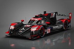 WEC Noticias Rebellion presentó las primeras imágenes de su coche LMP1