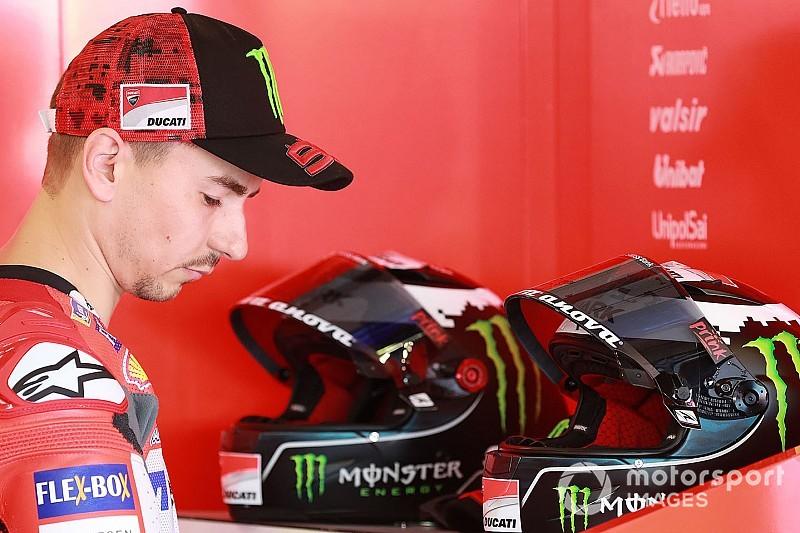 Ducati bevestigt dat Lorenzo Australische GP moet missen