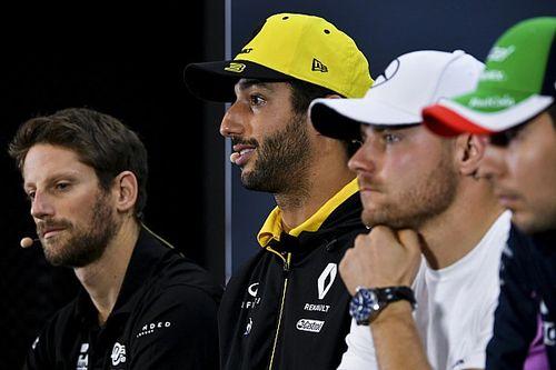 Ricciardo va évoquer la défense de Grosjean au briefing des pilotes