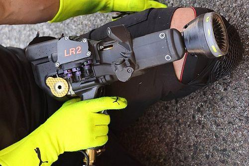 Pit stop F1: soste da record con le pistole-computer!