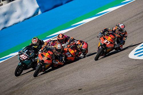 Moto3-Crash in Jerez: Bremsscheibe hätte fast Hals von Öncü aufgeschlitzt