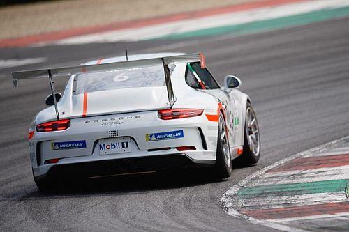 Carrera Cup Italia, test Mugello: Cerqui davanti, poi la pioggia