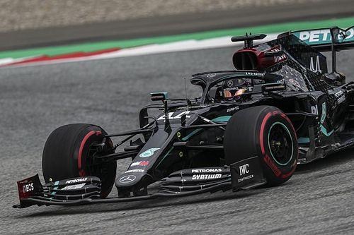 Hamilton volta a superar Bottas e Pérez é 3º no segundo treino da Áustria