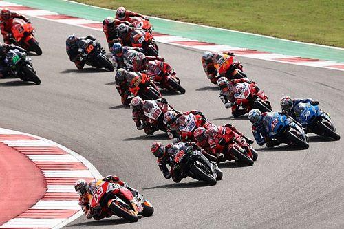 Положение в общем зачете MotoGP после Гран При Америк