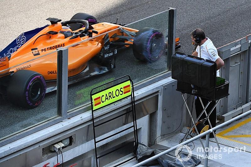 Salir del box con el McLaren fue un sueño hecho realidad, dice Sainz