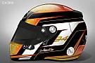 Anche Wehrlein presenta una nuova livrea per il casco 2016