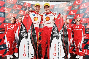 Supercars Race report Gold Coast 600: McLaughlin snatches victory away from Whincup