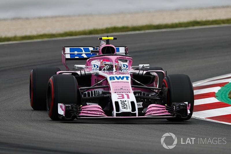 Ocon segue com mesmo motor da Espanha após problemas