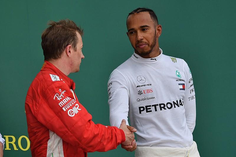 Hamilton accetta le scuse di Kimi: