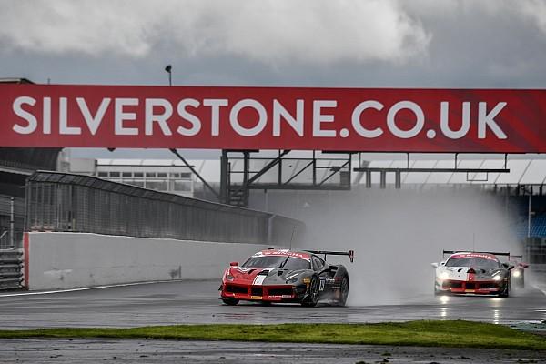 Ferrari Gara A Silverstone vincono Hladik, Nussbaumer, Grossmann e Froggatt