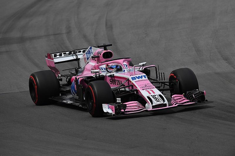 Pérez: Problemas financeiros atrasam Force India