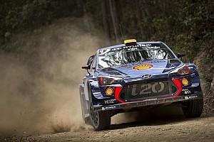 WRC News Hyundai: Teilzeitprogramm für Paddon und Sordo in der WRC 2018