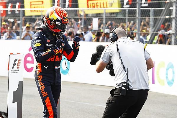 Rosberg over Verstappen: