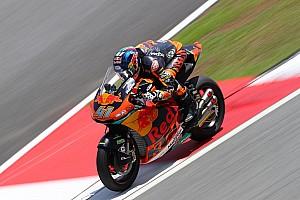 Moto2 Verslag vrije training Binder voor kampioen Morbidelli in warm-up op Sepang