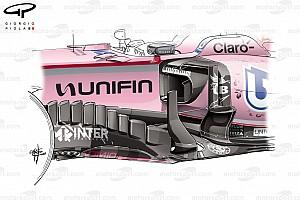 Formel 1 Feature Formel-1-Technik: Force Indias Mexiko-Update unter der Lupe