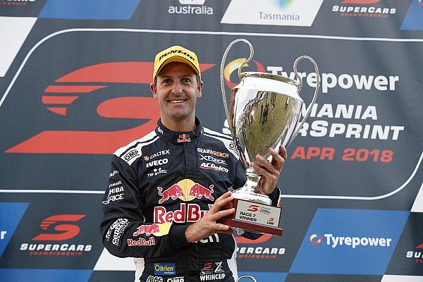 Supercars Tasmania Supercars: Whincup dominates opening race