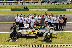 Fórmula 3 Brasil Relato da corrida Em grid de 6 carros, Iorio vence e é campeão da F3 Brasil
