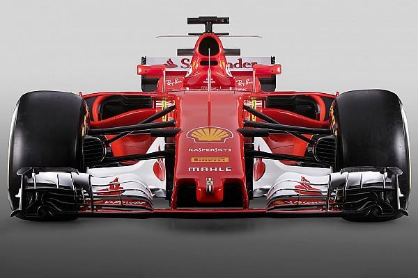 F1 Top List F1 2017对比2016: 全新法拉利SF70H赛车对比SF16-H赛车