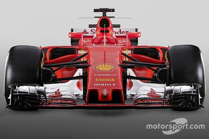 F1 2017对比2016: 全新法拉利SF70H赛车对比SF16-H赛车