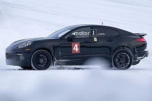 Автомобілі Важливі новини Шпигунське фото: 100%-електричний седан Porsche – реальність?