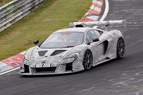 Automotive Breaking news Mysterious McLaren 675LT Race Car Spied On The Nürburgring