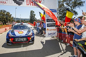 WRC BRÉKING A Hyundai reméli, a korzikai győzelem csak a kezdet volt
