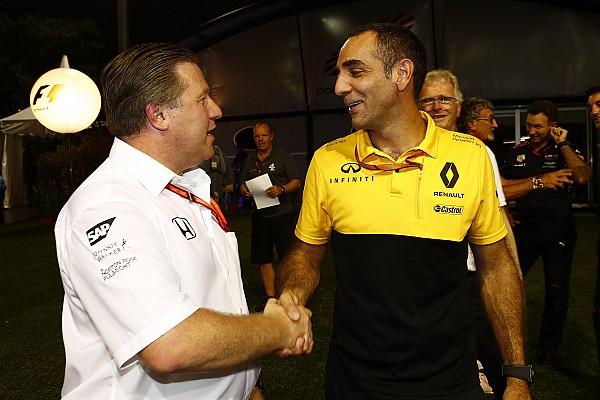Formula 1 Son dakika Brown: Renault, McLaren için kısa vadeli bir çözüm değil