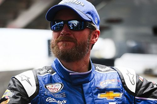"Dale Jr. only has ""a few events left"" in real-world racing"