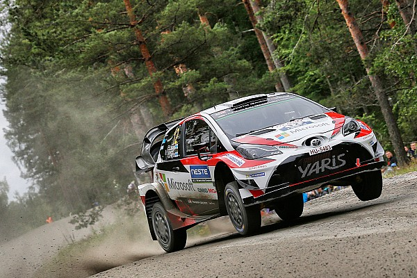 WRC Finland: Lappi als leider de laatste dag in