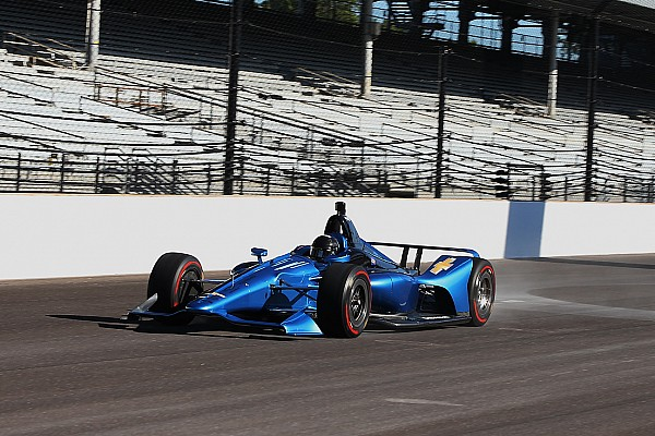 IndyCar New IndyCar design for 2018 hits the track at Indianapolis
