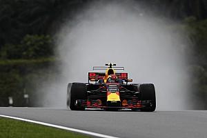 """F1 练习赛报告 马来西亚大奖赛FP1:大雨致练习""""缩水""""半小时,维斯塔潘雨地最快"""