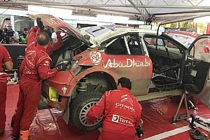 WRC Ultime notizie Video, impresa Citroen: ricostruita in una notte la C3 demolita di Meeke!