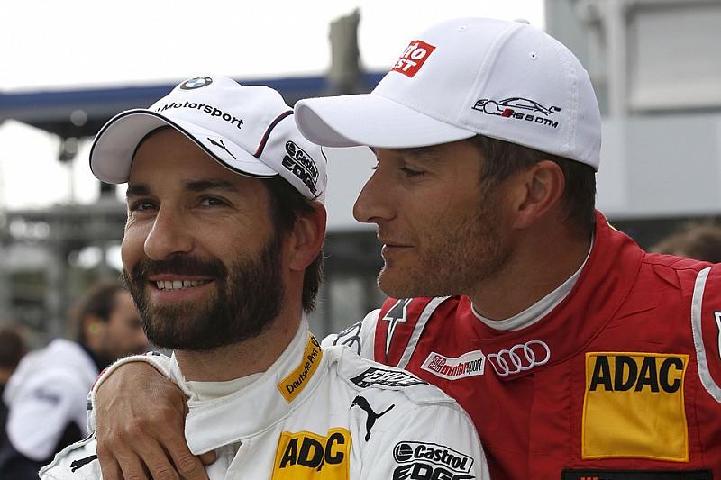 Beste Kumpels Timo Glock und Timo Scheider: