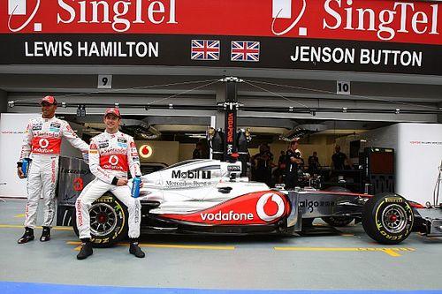 Button i współpraca z Hamiltonem