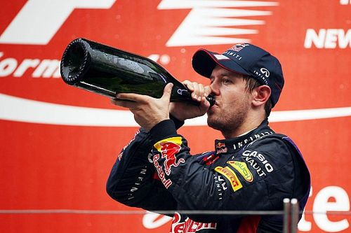 Vettel, su borrachera en India tras ser campeón y un elefante