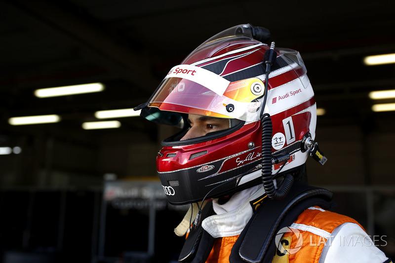 #3 Aust Motorsport, Audi R8 LMS: Sheldon van der Linde