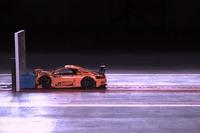 Crash test de un Porsche 911 de Lego Tech