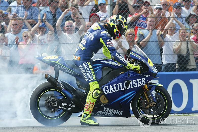 2004, segunda victoria de Rossi en Assen en la categoría de MotoGP