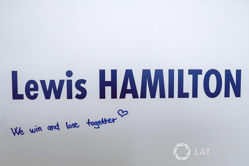 رسالة للويس هاميلتون، مرسيدس
