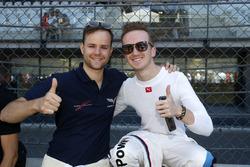 #77 Callaway Competition, Corvette C7 GT3-R: Jules Gounon und #42 BMW Team Schnitzer, BMW M6 GT3: Ricky Collard