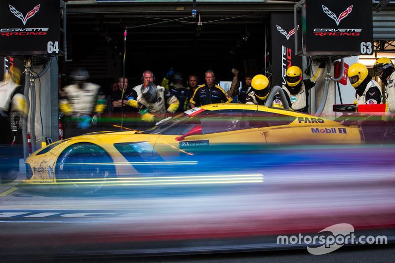 4. #63 Corvette Racing Corvette C7.R: Jan Magnussen, Antonio Garcia, Jordan Taylor
