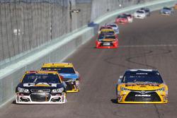Ryan Newman, Richard Childress Racing Chevrolet, Matt Kenseth, Joe Gibbs Racing Toyota