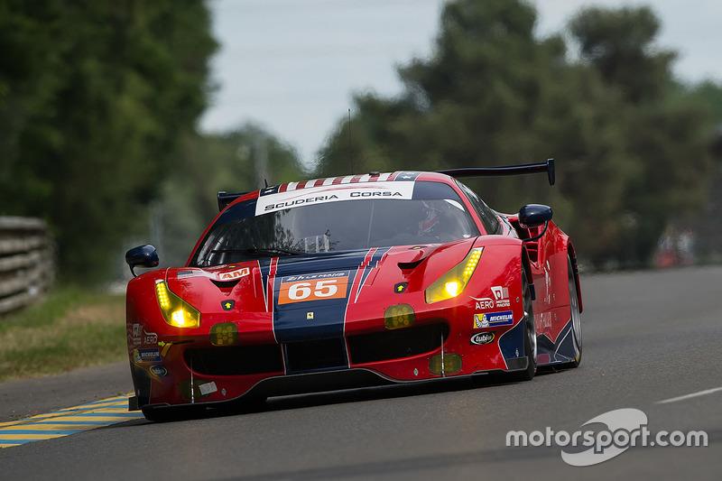 LMGTE-Am: #65 Scuderia Corsa, Ferrari 488 GTE