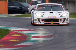 #227 Nova Race, Ginetta G55 GT4: Luca Magnoni, Philippe Salini, Luca Rangoni