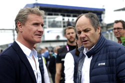 David Coulthard mit DTM-Chef Gerhard Berger