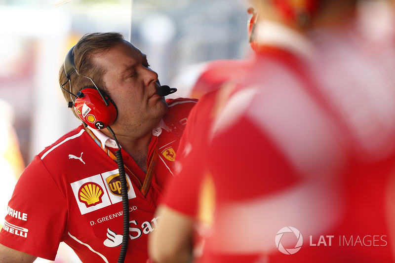 Dave Greenwood, Race Engineer, Ferrari